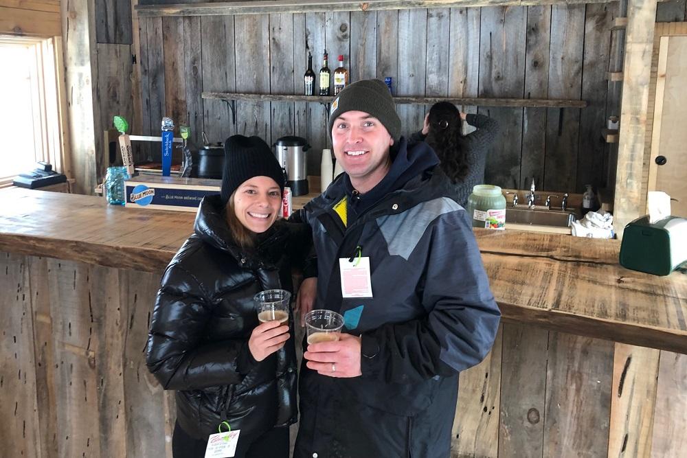 first warming hut customers