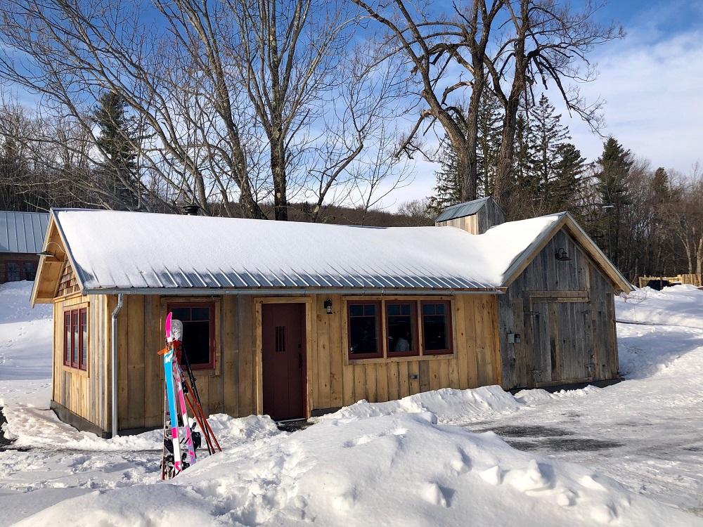 warming hut exterior